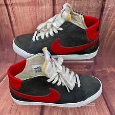 Nike Blazer Lr mid Trainers Woman's Men's Grey Red White Retro sneakers 2012 vgc