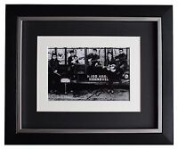 Pete Best SIGNED 10x8 FRAMED Photo Autograph Display Beatles Music AFTAL & COA