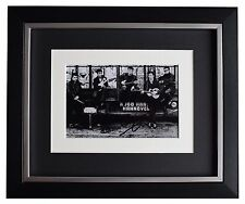Pete Best SIGNED 10x8 FRAMED Photo Autograph Display Beatles Music AFTAL & COA