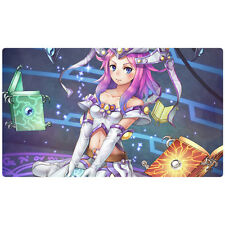 FREE SHIPPING CUSTOM Yugioh Playmat Spellbook High Priestess of Prophecy Playmat