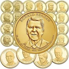Complete 2007-2016 Set of President Dollar Coins (39), P or D Mint, Thru Reagan