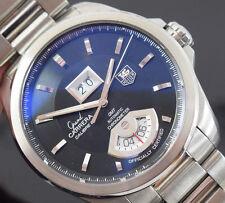 TAG HEUER GRAND CARRERA WAV5111 GMT Scatola/DOCUMENTI/1 Anno Gtee 2009 anno eccellente