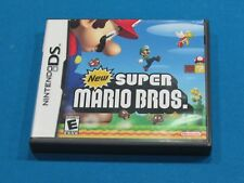 New Super Mario Bros. (Nintendo DS) w/Case & Manual ~ Free Shipping