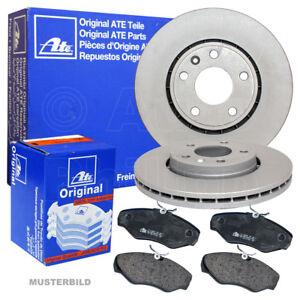 Bremsbeläge für Volvo V60 V70 3 135 XC70 2 136 ATE2 Bremsscheiben Ø302 Voll
