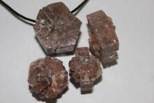 Aragonit Kristall Freiform Anhänger ca. 25-50 mm ca. 2,5 mm gebohrt