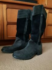 *REDUCED* TIMBERLAND LEATHER WINTER CALF BOOT UK 5.5 WIDE FIT EU38.5 US 7.5W