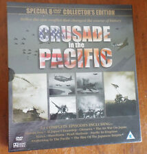 CRUSADE IN THE PACIFIC 8 DVD SPECIAL COLLECTOR'S EDITION - New in Shrinkwrap
