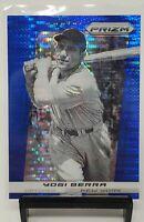 2013 Prizm Short Print Blue Pulsar Refractor Yankees YOGI BERRA Card 100% MINT