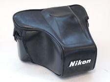 Nikon CF-35 leather case for f501 cameras. U7602