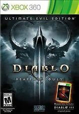XBOX 360 GAME DIABLO III ULTIMATE EVIL EDITION BRAND NEW & FACTORY SEALED