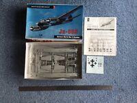 Hobby Craft 1:48 Junkers Bomber JU88-S model kit #1607