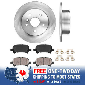 For 2000 2001 2002 2003 2004 Toyota Avalon Rear Drilled Slotted Brake Rotors