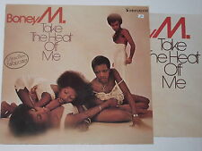 BONEY M. -Take The Heat Off Me- LP + Poster