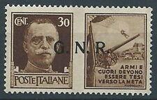 1944 RSI PROPAGANDA DI GUERRA 30 CENT VERONA MNH ** - RR13730-3