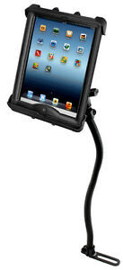 RAM  Vehicle No-Drill Mount for iPad Air 4, iPad Pro 11, Nexus, More, use w/case