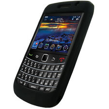 Black Silicone Case Skin for BlackBerry Bold 9780 UK