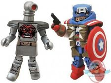 Marvel Minimates Series 54 Fighting Captain America & Robot Red Skull
