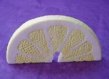 Half Lemon Slice, Porcelain, Prop, Display Set of 6 ea.