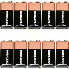 10 Duracell oem 9V Batteries  MN1604 6LR61 PP3 Battery