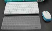 Keyboard Skin Cover Protector For Logitech Wireless Combo MK240 k240 Keyboard