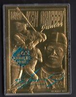Ken Griffey Jr 1997 Bleachers Chasing 62 Home Runs 23 kt Gold Card #1