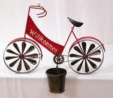 Pot de Fleurs Support Mural, Mural Vélo Chaque avec Éolienne en L' Roue