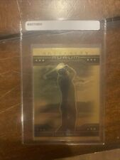 2021 upper deck golf cards. Tiger Woods Aurum Artifacts