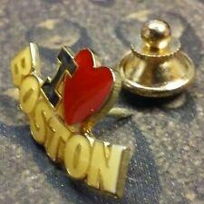 I Love Boston pin badge