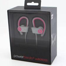 Beats by Dr. Dre Powerbeats 2 Wireless Ear-Hook In Ear Headphones PINK-GREY NEW