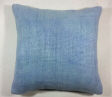 Handmade Hemp Pillow Cover 18x18 Home Decorative Sofa Couch Lumbar Cushion  1526