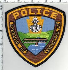 Borough of Leighton Police (Pennsylvania) 2nd Issue Shoulder Patch