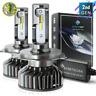 Syneticusa H4 9003 LED Headlight Kit High Low Beam 6000K White Light Bulbs