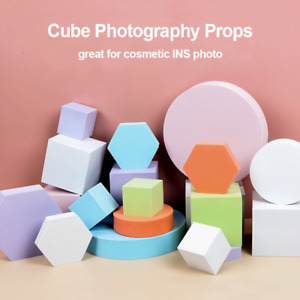 Selens 6in1 INS Photography Cube Photo Shooting Foam Geometric Props Backdrops