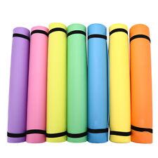 1pc 4mm Thickness EVA Comfort Foam Yoga Mat for Exercise, Yoga, and Pilates SWK