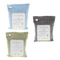 200gx3 Car/Home Natural Air Purifying Bamboo Charcoal Odor  Bag