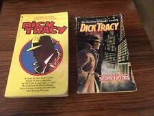 Dick Tracy The Secret Files & Dick Tracy Movie Novel