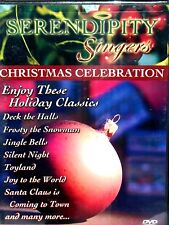 Serendipity Singers: Christmas Celebration DVD,NEW! MUSIC ,FOLK ,TRADITIONAL