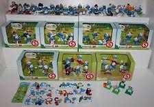 Schleich Puffi Puffo Smurf Smurfs 96 pezzi differenti Schleich + altre marche