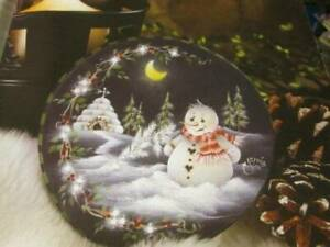 Quick & Easy Painting January 2005 Magazine-Jamie Mills-Price Snowman &