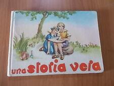 M. L. Guidetti UNA STORIA VERA Edizioni Paoline anni '50 illustraz. C. Gandolfo
