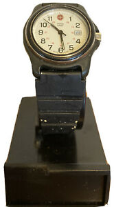 Vintage Swiss Army Women's Water Resistant to 330 Feet Casio Throwaway Band