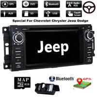 Car DVD GPS Radio Jeep Wrangler Grand Cherokee Compass Patriot Commander Liberty