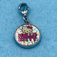 Sanrio Hello Kitty Round Charm