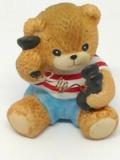 Vintage Lucy & Me Bear-Enesco-1985 Boy on Telephone - S266