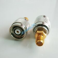 RP-TNC male plug center to SMA female jack RF coaxial adapter connector Antenna