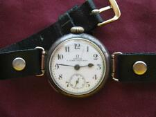 """"""" Omega """" L.Fink-Gauchat  wrist watch. Shop Omega in Moscow, Russia 1913."""