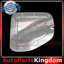 Chrome Fuel Gas Door Trim Bezel Cover For 05-15 Toyota Tacoma SHORT bed ONLY