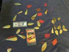 trolling flashers, flasher rigs, and pair of planers lot of