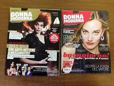 lotto 2 riviste donna moderna N° 1 del 2013 e N° 48 del 2014