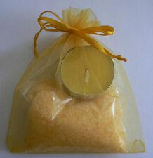 Beauty&Nature Bath-Kit Tropical Dream with Citrus Bath Salts and Citrus Tealight